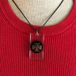 Authentic Tory Burch Button Necklace